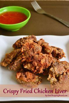 Crispy Fried Chicken Liver