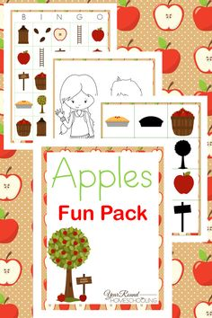Apples Fun Pack - By Year Round Homeschooling