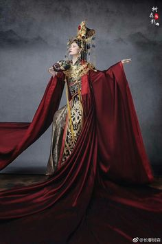 Oriental Dress, Oriental Fashion, Asian Fashion, Fashion Photo, Chinese Fashion, Traditional Fashion, Traditional Outfits, The Empress Of China, China Girl