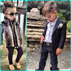 The Cutest, Fashionable, Sassy/Fly kids I hope to have one day:) lol