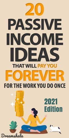 20 legit passive income ideas that will pay you forever for the work you do once. #passiveincomeideas #makemoney #makemoneyonline #sidehustles #legitpassiveincomeideas #makemoneywhilesleeping #dreamshala #sidejobs #extramoneyideas Work From Home Careers, Legitimate Work From Home, Make Money From Home, Make Money Online, How To Make Money, Money Hacks, Money Tips, Extra Cash, Extra Money