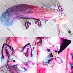 Cosplay Diy, Cosplay Outfits, Anime Outfits, Wolf Ears And Tail, Kitten Play Gear, Neko Ears, Diy Vetement, Hello Beautiful, Beautiful People