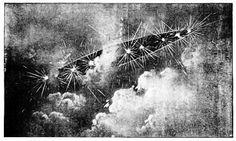 """El profeta durmiente, Edgar Cayce, en una conferencia habló sobre el uso de aviones y de cristales, o """"piedras de fuego"""", utilizadas para la obtención de energía y otros fines relacionados. Él también habló del uso inadecuado de dicha energía y de advertencias de destrucción venidera."""