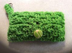 Purse Tissue Holder With Key Ring / travel by Yarnhotoffthehook