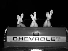 Chevy girls, best in the world<3 It is getting close to summer! Kick back look up at the stars and enjoy a new Chevy! #raychevrolet at Ray Chevrolet