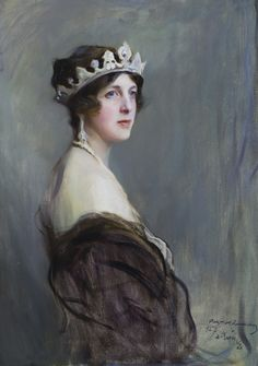 Edith, Marchioness of Londonderry, by Philip de Laszlo, 1927. ©National Trust Images/John Hammond