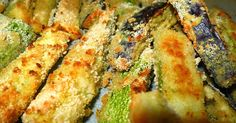Νόστιμα λαχανικά στο φούρνο! Τραγανά και λάιτ! Υλικά: 2 κολοκυθάκια και 2 μελιτζάνες 200 γρ. γιαούρτι 2 σκελίδες σκόρδο λιωμένε... Baked Avocado Fries, Zucchini Fries, Greek Recipes, Low Carb Recipes, Meatless Recipes, Chipotle, Looks Yummy, Ketchup, Greek Yogurt