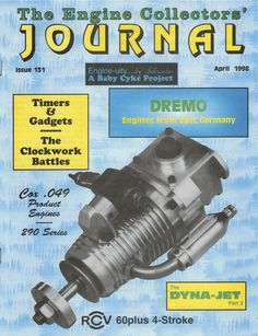 131 Engine Collectors Journal Dyna-Jet Dremo Cox 290 Series RCV 4-Stroke model