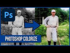 Photoshop Youtube, Photoshop Tips, Photoshop Tutorial, Photoshop Course, Black And White, Black N White, Black White