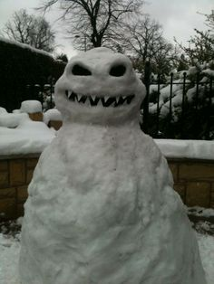 Attack of the killer snowman!