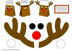 Free Christmas Printable: Reindeer Food #kids #christmas #printable