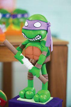 Bodacious Teenage Mutant Ninja Turtles Birthday Party