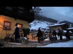 Krampuslauf 2013 in Bad Hofgastein / Krampus & Nikolaus in Gastein, Salzburg, Österreich - YouTube