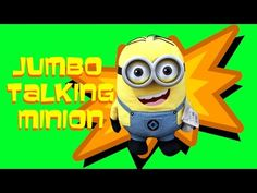 MINION TOY REVIEW - TALKING DAVE by SUPERXAVIER - YouTube