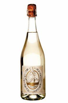 Sparkling wine 'Chímpanskí Brut'.  http://t-h-i-n-g-s.blogspot.com