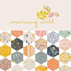 This listing is for a F8 bundle - Morning Walk by Leah Duncan for Art Gallery Fabrics  Contains 1 F8 of each of the 20 prints in the line as seen in