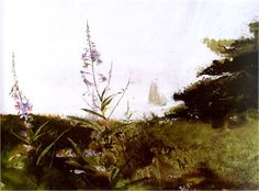 """Under Sail-Andrew Wyeth"