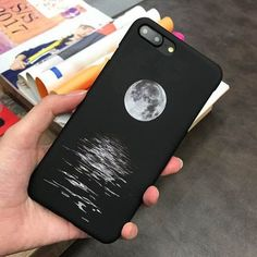 LACK Moon Case For iphone 6 Case Fashion Space Universe Series Cover Hard Froste. - LACK Moon Case For iphone 6 Case Fashion Space Universe Series Cover Hard Frosted Sea Pattern Phone - Art Phone Cases, Diy Phone Case, Iphone Case Covers, Iphone 6 Cases Black, Galaxy Phone Cases, Iphone 6 Plus Case, Coque Iphone, Iphone 5s, Stylo Art