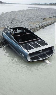 Ski Boats, Kayak Boats, Cool Boats, Boat Building Plans, Boat Plans, Yacht Design, Boat Design, Aluminum Boat, Aluminum Fishing Boats