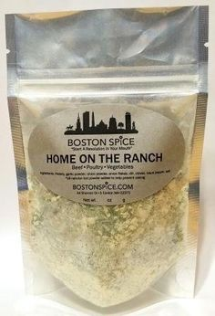 Boston Spice Home On the Ranch Herb Seasoning Blend Dairy Free and Paleo Diet Approved (Approximately 1 Cup (8oz Volume)) ** Be sure to check out this awesome product.