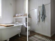 bath Catskill Cabin by Jersey Ice Cream Co, Remodelista