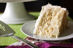 The Ultimate Moist, Fluffy, Ridiculous Coconut Cake!