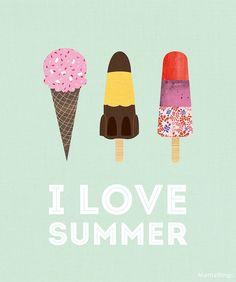 I love summer. Nos gusta el verano. Un montón de propuestas para que jóvenes estudiantes descubran España y aprendan español: www.galainternacional.com