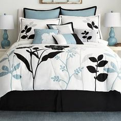jcp home™ Shadow Leaf 10-pc. Comforter Set & Accessories - jcpenney