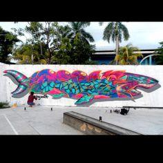"FARID RUEDA Xoc"" en Acapulco #faridrueda #streetart"