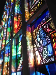 Stained Glass (Shrine of Our Lady of Czestochowa, Pennsylvania)