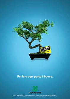 Legambiente - Advertising (Spot School Award) by Mattia Compagnucci, via Behance