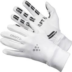 Craft unisex handschoen Thermal Multi Grip wit bij Hardloopaanbiedingen.nl. Zachte, gevoerde, warme fleece stof. #hardlopen #hardloopaanbiedingen.nl