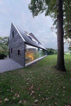 prefabnsmallhomes:  House in Almen the Netherlands by Architect...