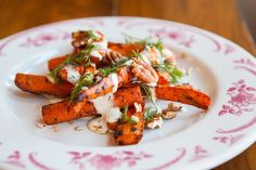 #Barbecued #Carrots, #Pecans, Creamy Herb Dressing, and Dill from #Chef Cosmo Goss of The Publican - Chicago, IL | StarChefs.com