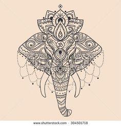 e42957861ecb091548021aa284c2612a--indian-elephant-art-tattoo-elephant.jpg (450×470)