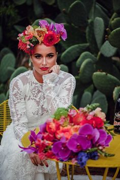 """El Casamiento"" Mexican Inspired Shoot - Nouba - ""El Casamiento"" Mexican Inspired Shoot"