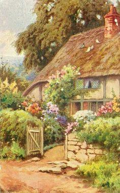 Sweet English cottage