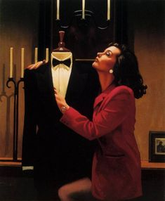 jack vettriano paintings   Another Kind Of Love