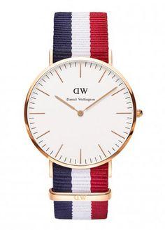 Часы Daniel Wellington Cambridge (золотой корпус)