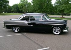 55 Chevy, Love these paint colors..