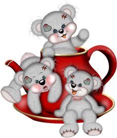 ʕ •́؈•̀ ₎♥                                               Creddy Teddy Bears