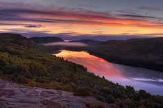 Lake of the Clouds, Porcupine National Forest, Upper Peninsula