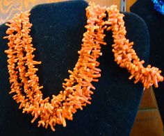 Antique Branch Coral Necklace and Bracelet.  Check them out at The Corner Shoppe, 27 Calendar Ave, LaGrange, IL 708-579-2425