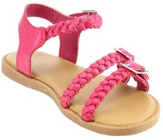 New Girl's Kid's Junior Summer Strappy Flat Gladiator Sandals Shoes >>> Insider's special review you can't miss. Read more  : Girls sandals