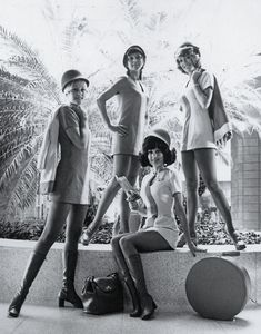 1960s airline stewardesses