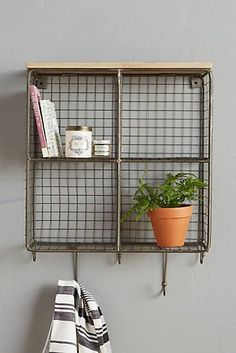 Quadrant Wall Cubby - I feel like this could be put together somehow for less than $200.