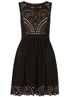 Stud cutwork dress - Going Out & Occasion  - Clothing