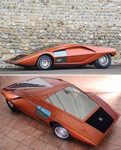 RARE!!!! 1970 Lancia Stratos HF 'Zero' Auction