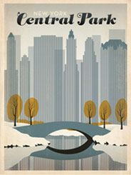 New York's Central Park: Early Snow - Spring Cleaning SALEPrice:50% OFF! Hurry, this design is on sale for a limited time!     This peaceful print features an early snowfall in New York City's Central park while fall leaves are still on the trees.