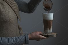 Making a morning coffee. by kawizen  on Creative Market  #coffee #latte #coaster #wood	#natural #makingcoffee #aromatic	#creamy #morning #day #dynamic #barista #coffeeart	#brown #cafe #chocolate #cocoa #closeup #delicious #drink #espresso #fresh #glass	#hands #hot #foam #milk #model #movement #pour #tasty